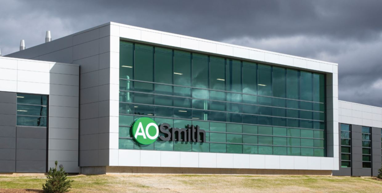 A.0. Smith listed as part of Transformation 20 in a list by Innosight