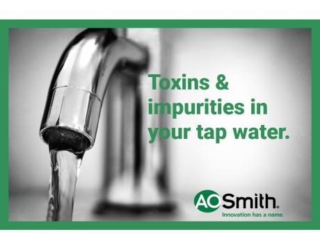 Toxins and impurities in your tap water