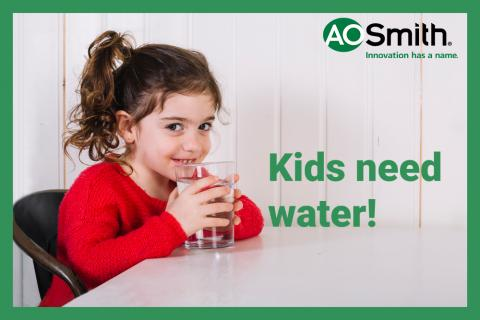 Kids need water!